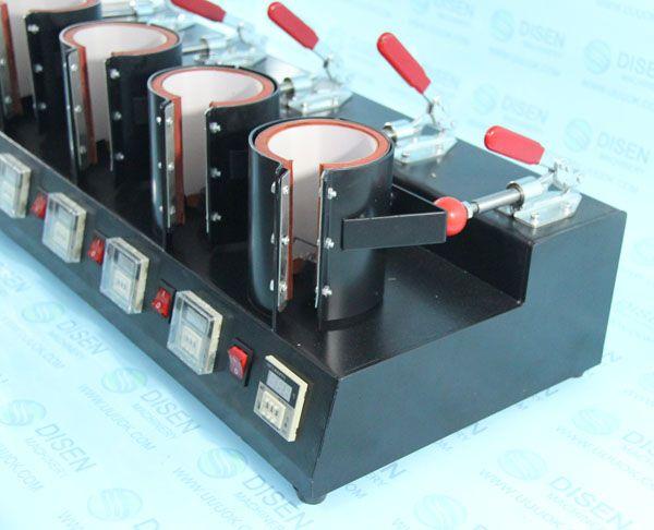 五工位烤杯机