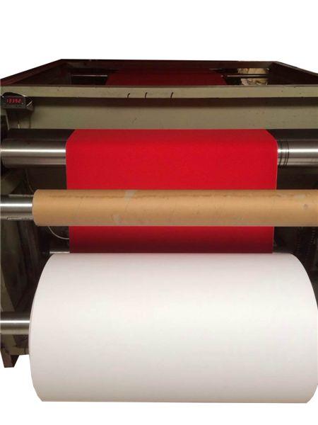 植绒纸生产