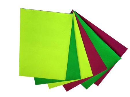 荧光植绒纸