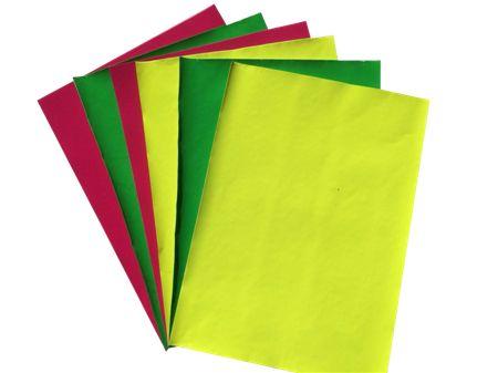 供应高档荧光植绒纸