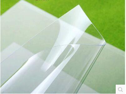 全透明A4弱溶剂防水胶片油性胶片晒版制版胶片喷墨打印办公耗材