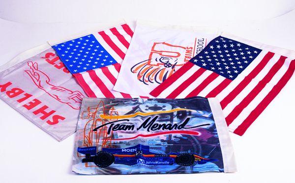 供应旗帜加工绶带各类旗印花