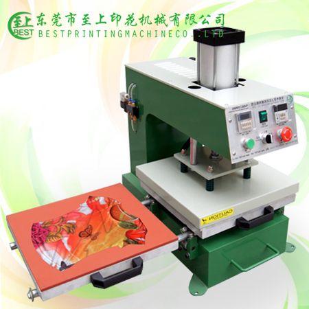 東莞廠家銷售燙畫機,氣動雙工位