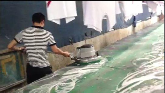 厂家销售CSC型丝网印花玻璃台板专用清洗机浙江有售