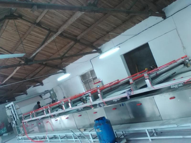 河北衡水平網印花機全伺服坯布印花機,導帶印花機