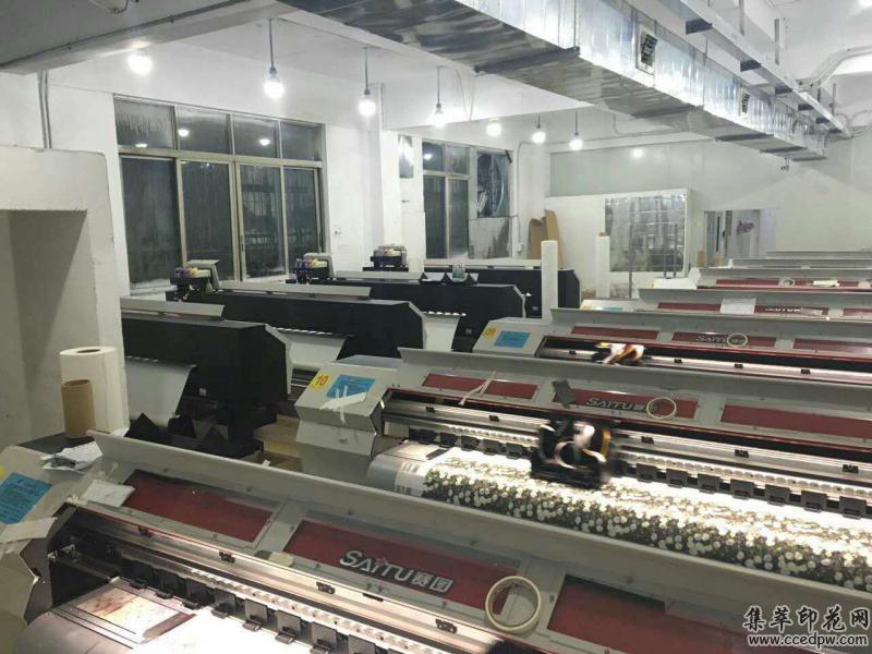 国产数码印花设备中最具优势的双头高速打印机