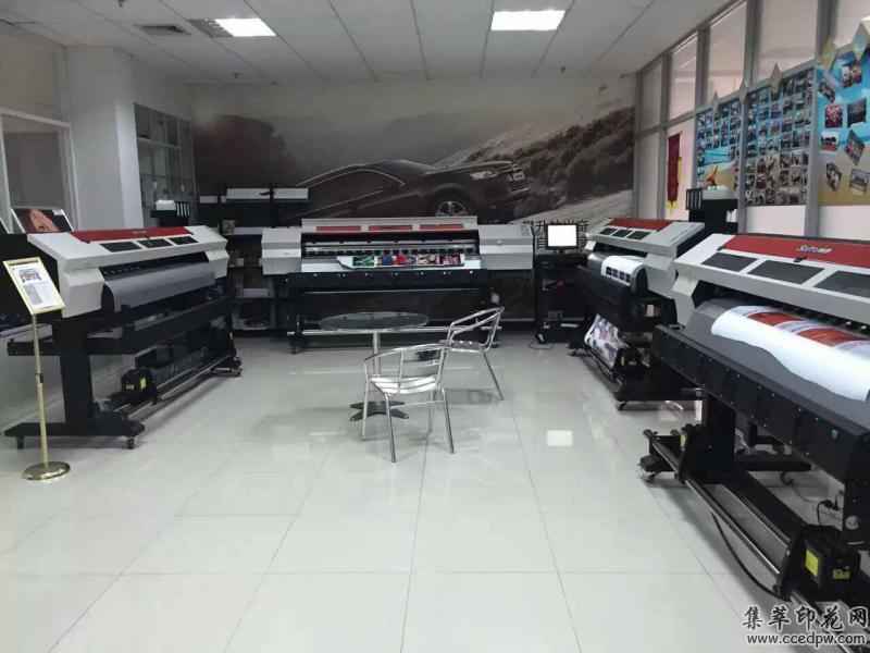 广州赛图高速双头2米数码印花机