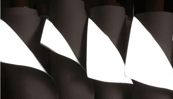 PU反光革太空反光革发泡反光革高低温反光革夜光革