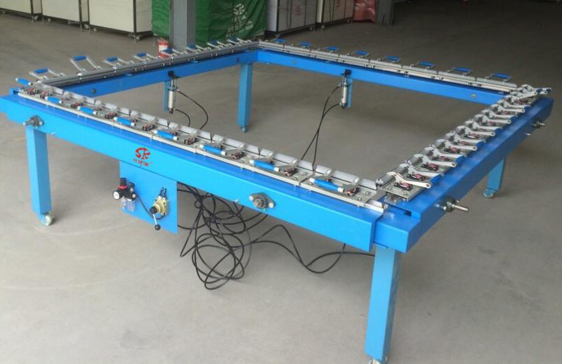 机械拉网机