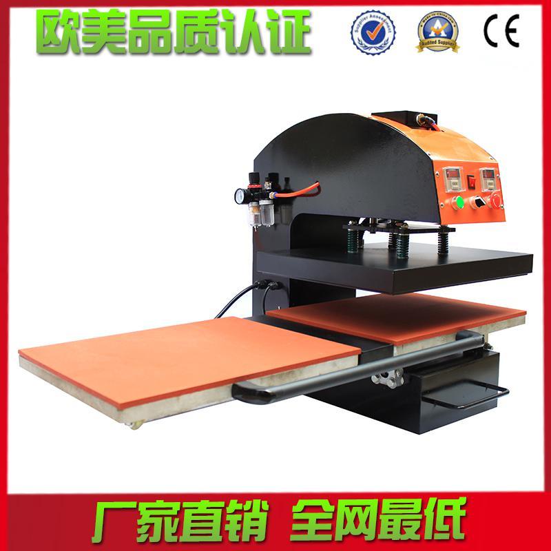多彩印花设备批发气动双工位烫画机服装压烫热转印升华机气动压机