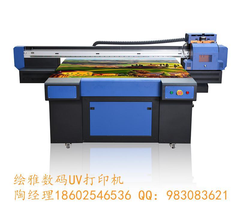 供应绘雅数码UV平面打印机、玻璃爱唯侦察1024机、瓷砖爱唯侦察1024机、万能彩印机、UV万能