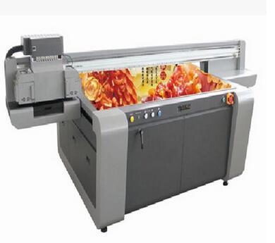 厂家直销浙江温州PU皮革裁片平板数码印花机