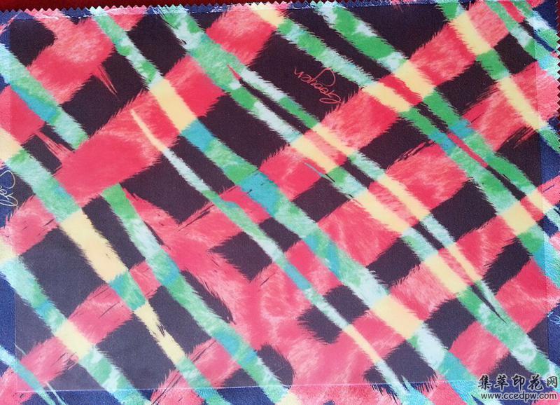 匹布亮光硅胶涂层效果
