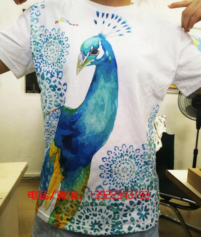 纯棉数码直喷印花机服装数码直喷印花机直喷印花设备