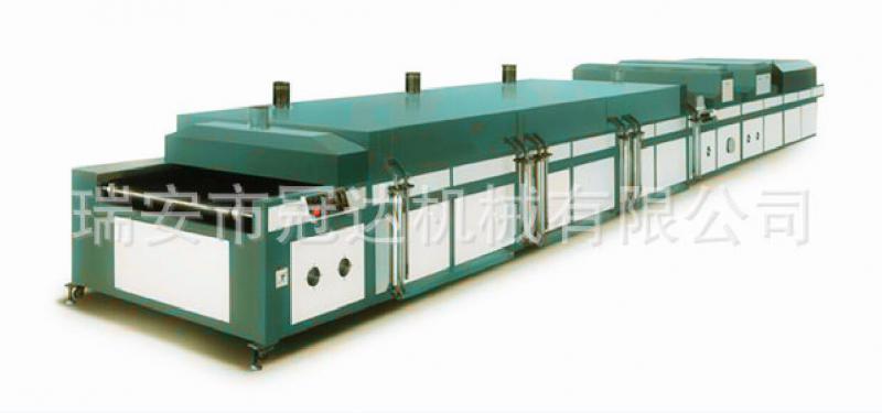 冠达远红外紫外组合烘干机多节组合式设计丝网印刷设备