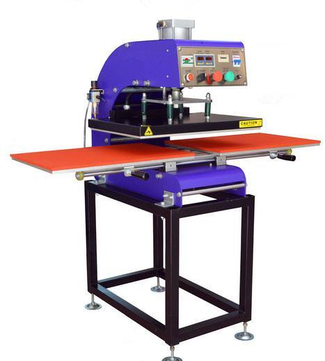 气动双工位转印烫画机