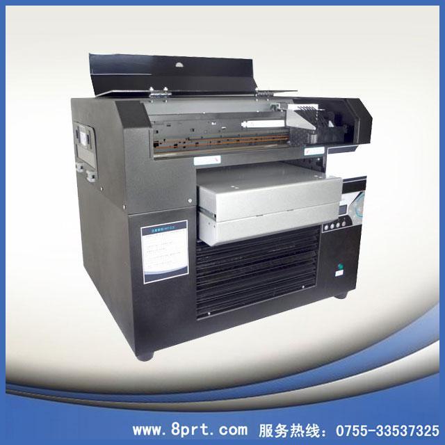 热销UV打印机带白墨UV数码爱唯侦察1024机A36色UV万能打印机