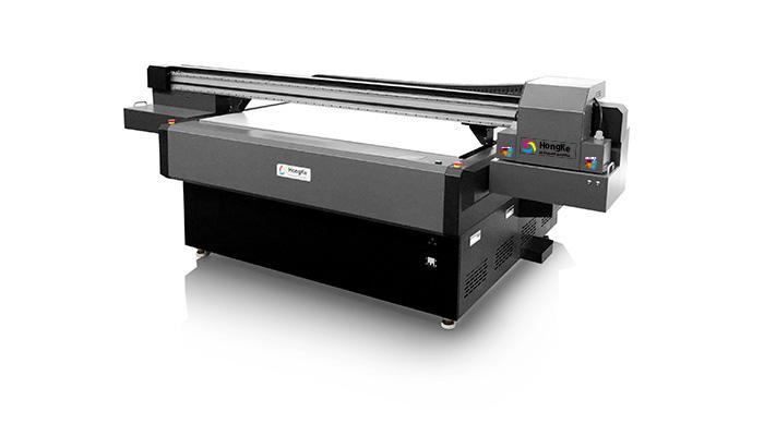 常州宏科玻璃爱唯侦察1024机UV平板打印机HK-UV1612