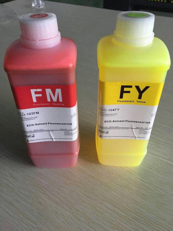 COLORMATE弱溶剂荧光墨水无毒UV墨水环保UV墨水