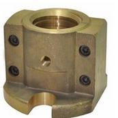 印染配件乘福定型機調幅螺母銅螺母銅套印花機