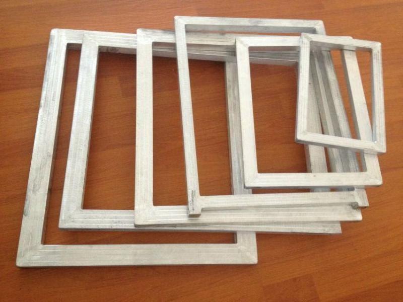 丝印网框铝合金网框丝网网框印花铝框