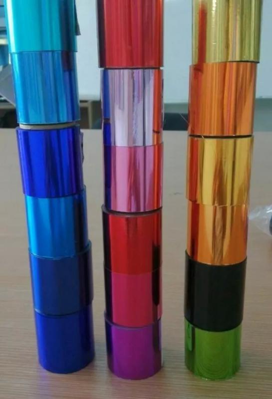 酒瓶盖专用红色蓝色绿色黑色镭射电化铝烫金膜
