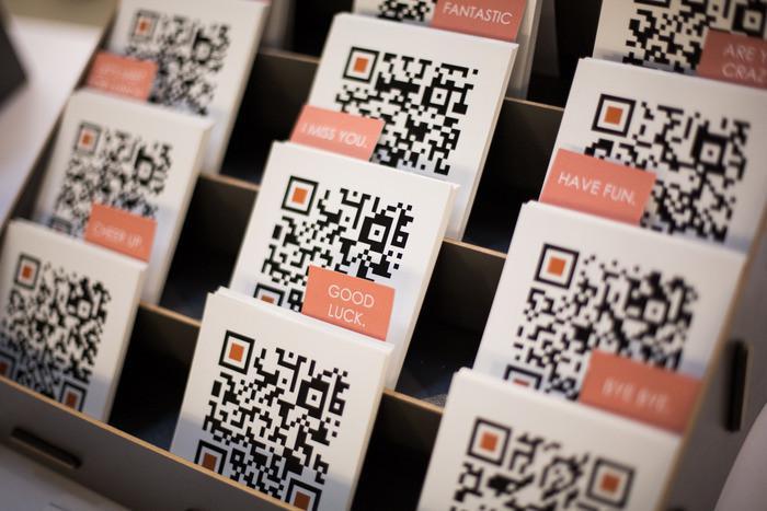 共享膜拜,ofo自行车app二维码名片,防伪标签打印机厂家