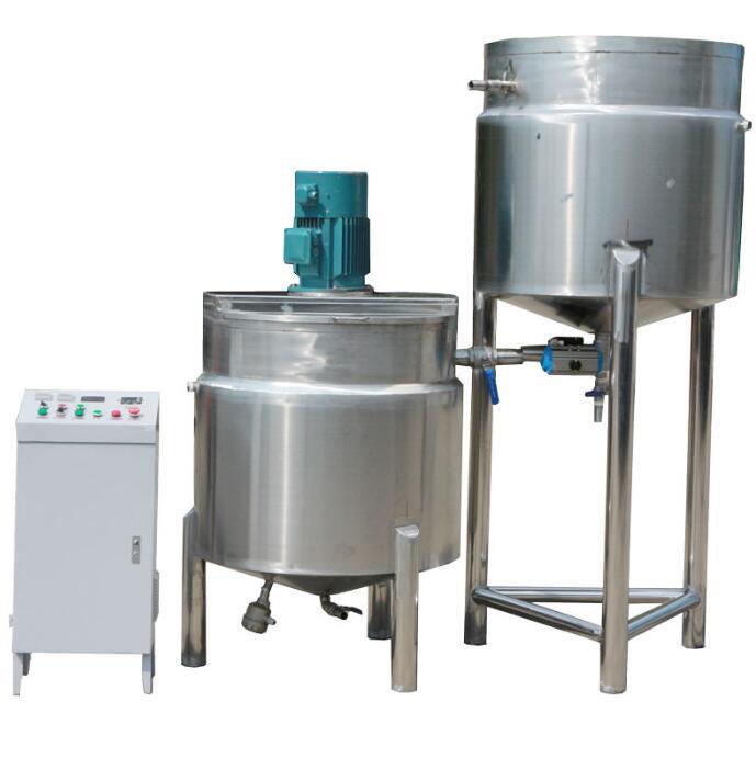 卧式砂磨机配套设备--自动给料化循环系统