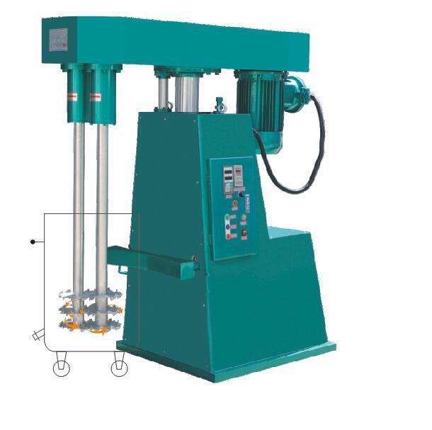 F2系列雙軸拉缸調速分散機(液壓升降拉缸型)
