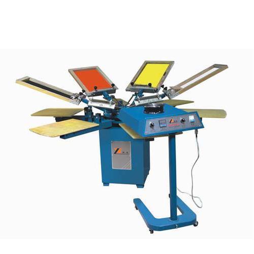 新款SPM系列手动旋转多色印花机服装片材印花机