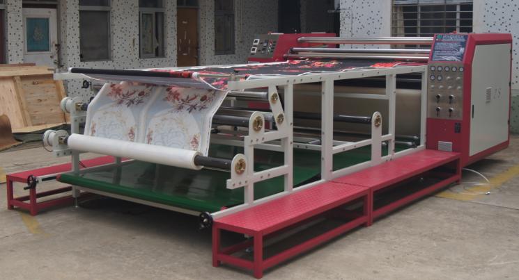 上海国产数码印花机转移印花布料布料数码转印机成衣数码转印机