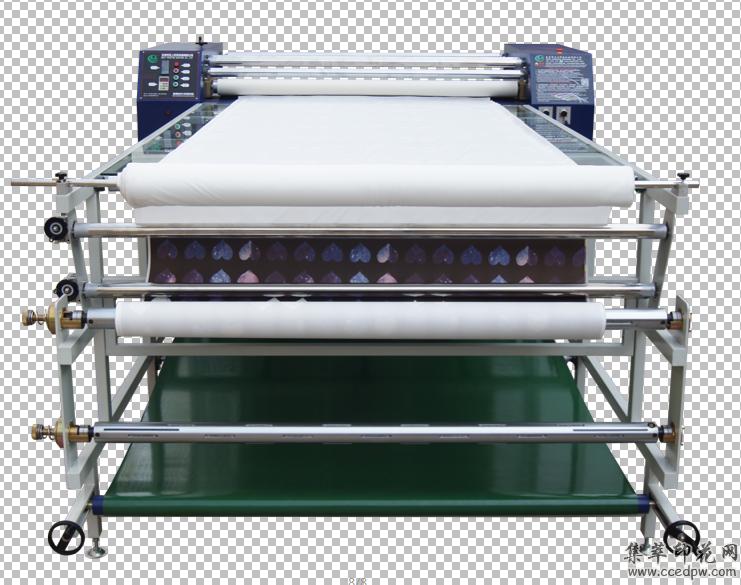 石家庄多功能热转印机1800mm热升华印花机滚筒式热转印机