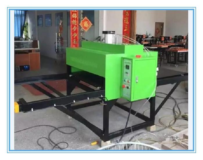 气动双工位服装印花机80100服装烫画机