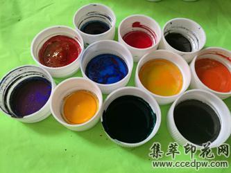 耐高溫水性色漿(色種,色母)水性色漆,遇水變色漿
