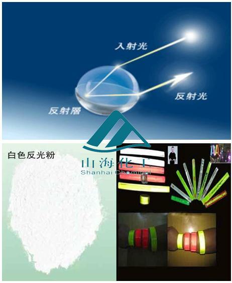 反光油墨用超闪亮高折射反光粉