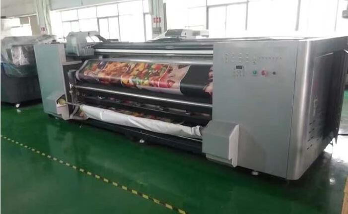 32米大型卷对卷UV平板喷绘机