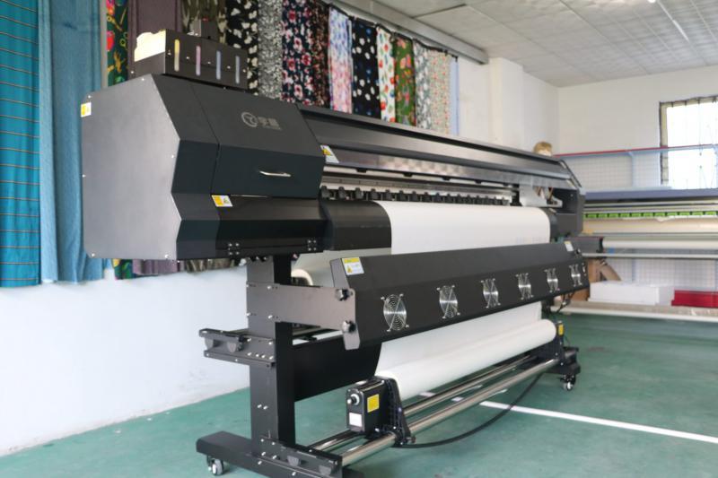 耀昇国产高精度双头打印机新款高速打印机写真机