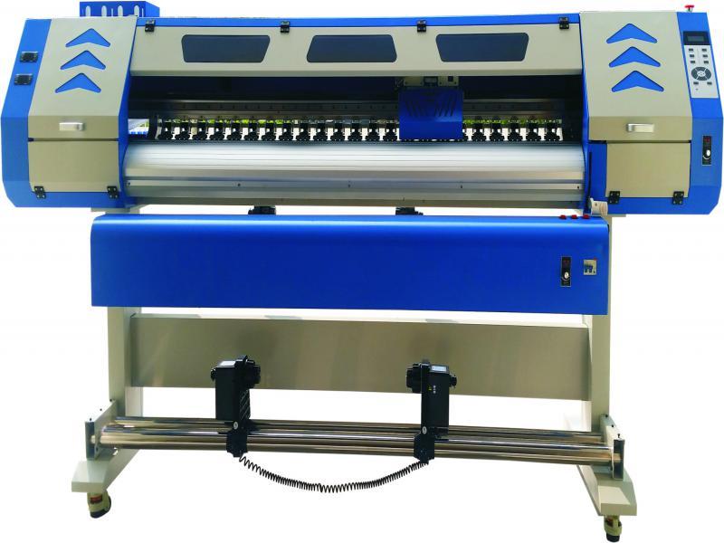 行业服装印画机卷布数码滚筒式热转印机双爱普生5113喷头