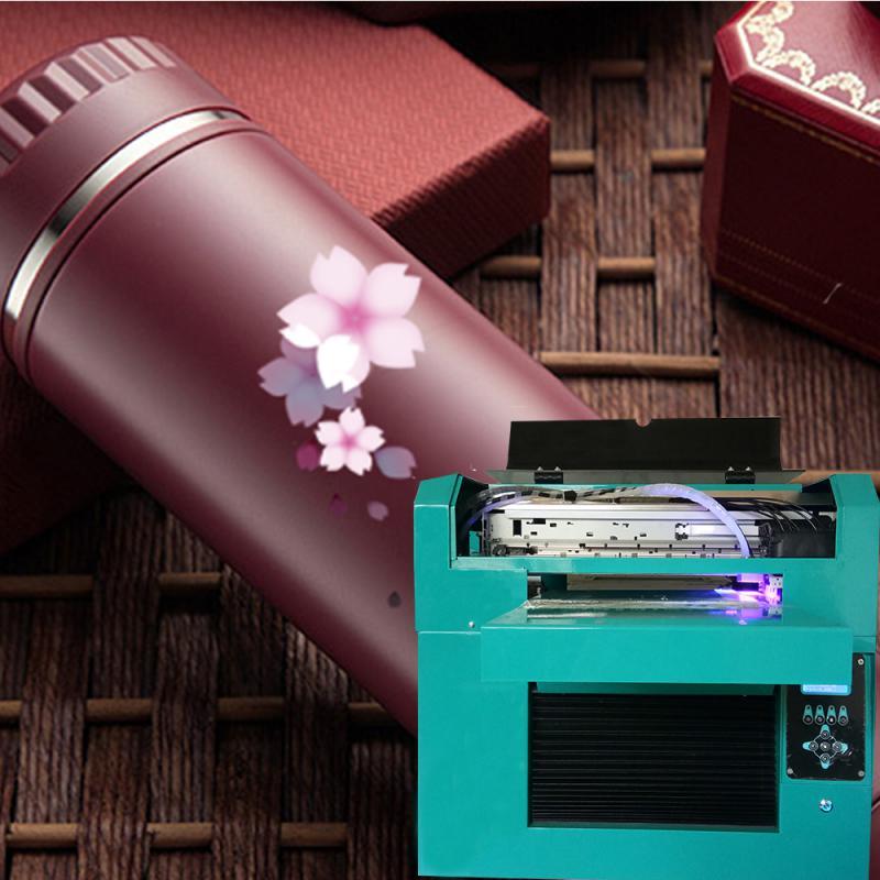 圆柱体旋转印花机保温杯打印机酒瓶杯子uv打印机厂家万能数码直喷机