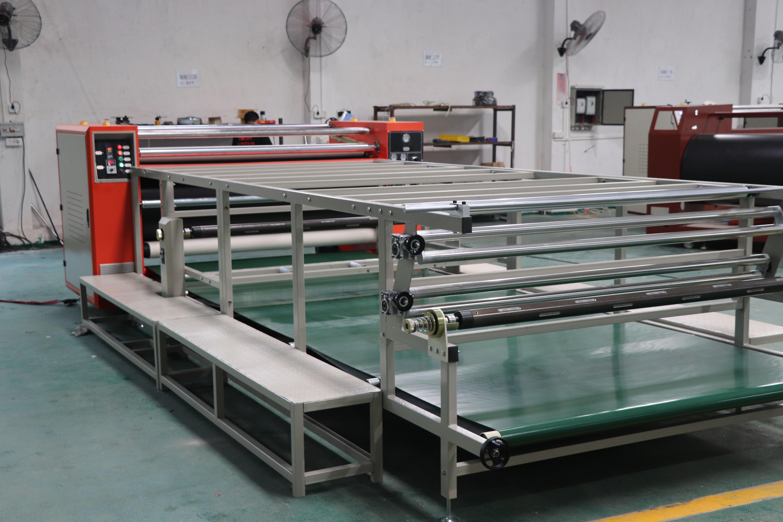 新款高速滚筒印花机、热转移印花机、热升华转印机JM-A1
