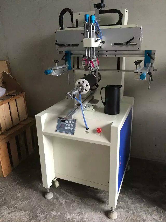 圆面印花机,曲面丝印机,圆弧形丝网印刷机