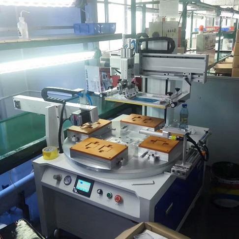 视窗玻璃爱唯侦察1024机,手机玻璃丝印机,玻璃面板丝网印刷机