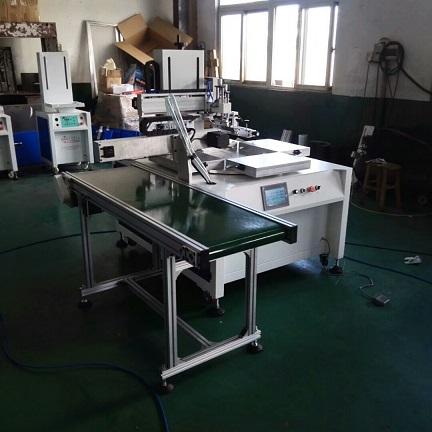 路由器外壳印刷机,机顶盒丝印机,塑胶面板丝网印刷机