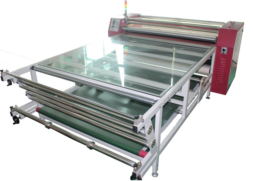 厂家直销多功能滚筒升华转印机滚筒烫画机滚筒印花机热转印机