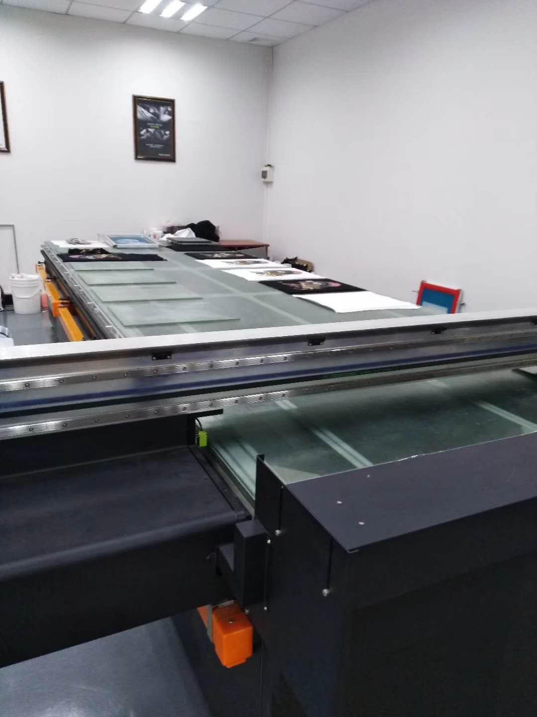 数码印花机全棉印花机服装印花机t恤打印机平板印花机跑台机