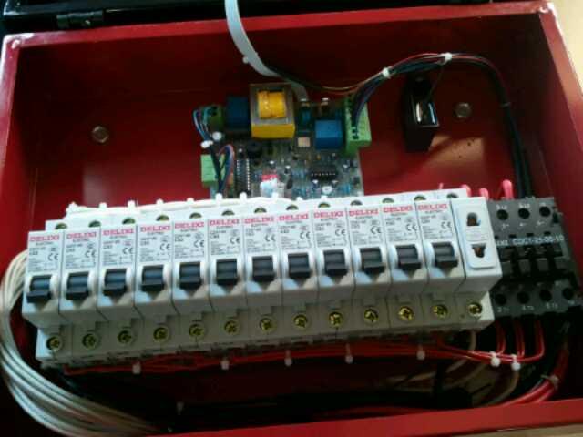 烘干机控制箱