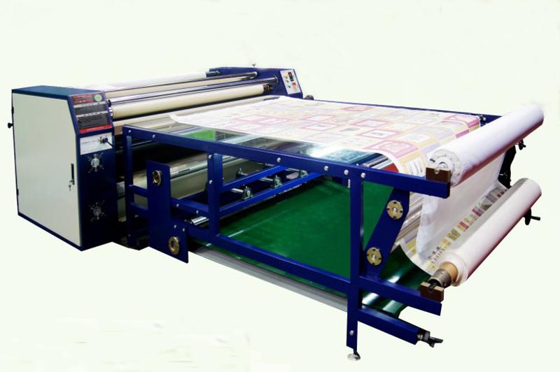 东莞厂家直销高速1700MM3D滚筒发热转印升华烫花画板机器设备大型