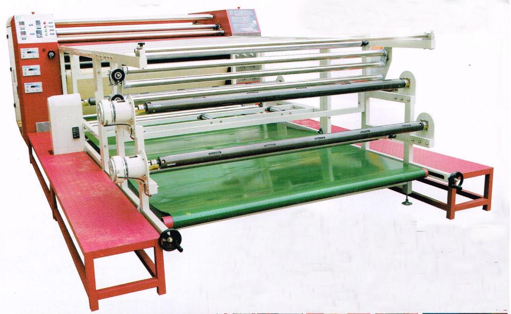 高速1700MM3D滚筒发热转印升华烫花画板机器设备大型