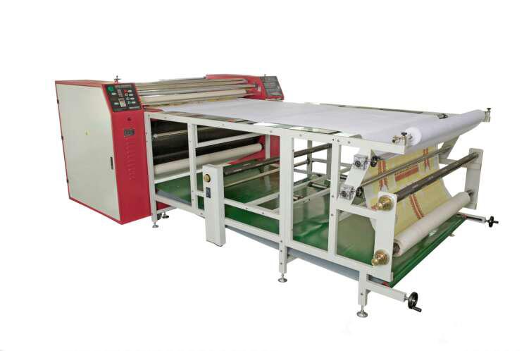 多功能滌綸服裝3D滾筒發熱轉印升華燙花畫板機器設備大型汕頭