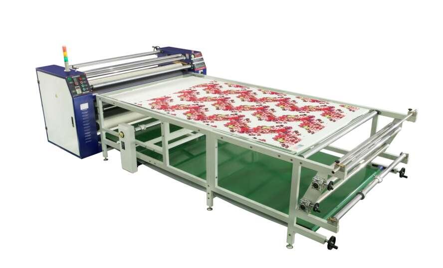 多功能1900MM3D滾筒發熱轉印升華燙花畫板機器設備大型深圳廠家